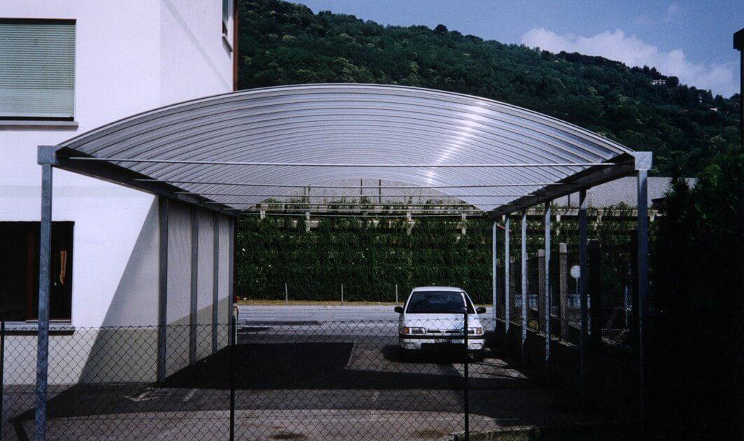 Sun Modul Curvo Système autoportant pour voûte translucide