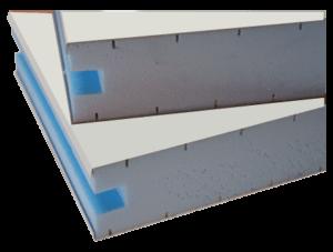 Metalpan styro, panneaux sandwichs isolants acier pour cloison, bardage
